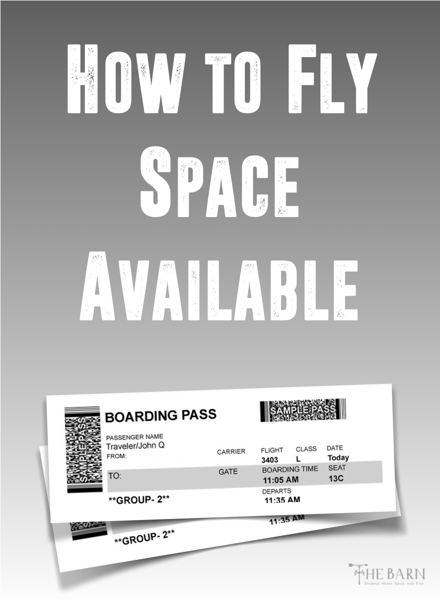 How to Fly Space Available